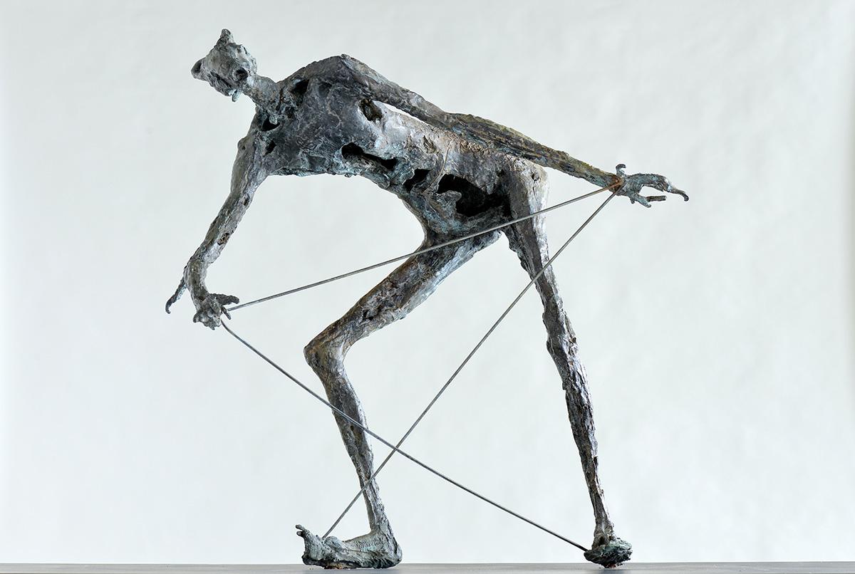 Germaine Richier (Grans, 1902 – Montpellier, 1959), Le Griffu, bronze, don de la famille de l'artiste, 1967