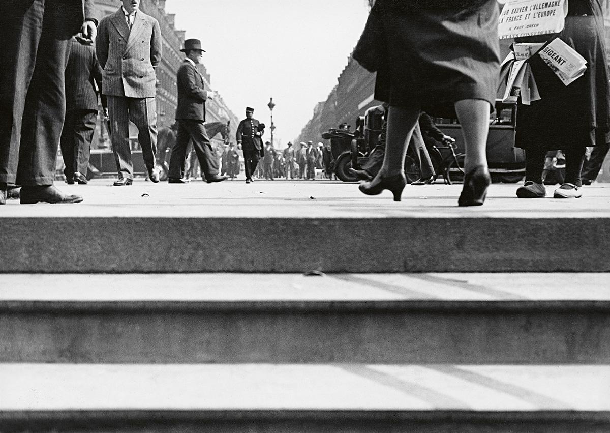 Les rues de Paris, ca.1936 © Fondation Alfred Latour