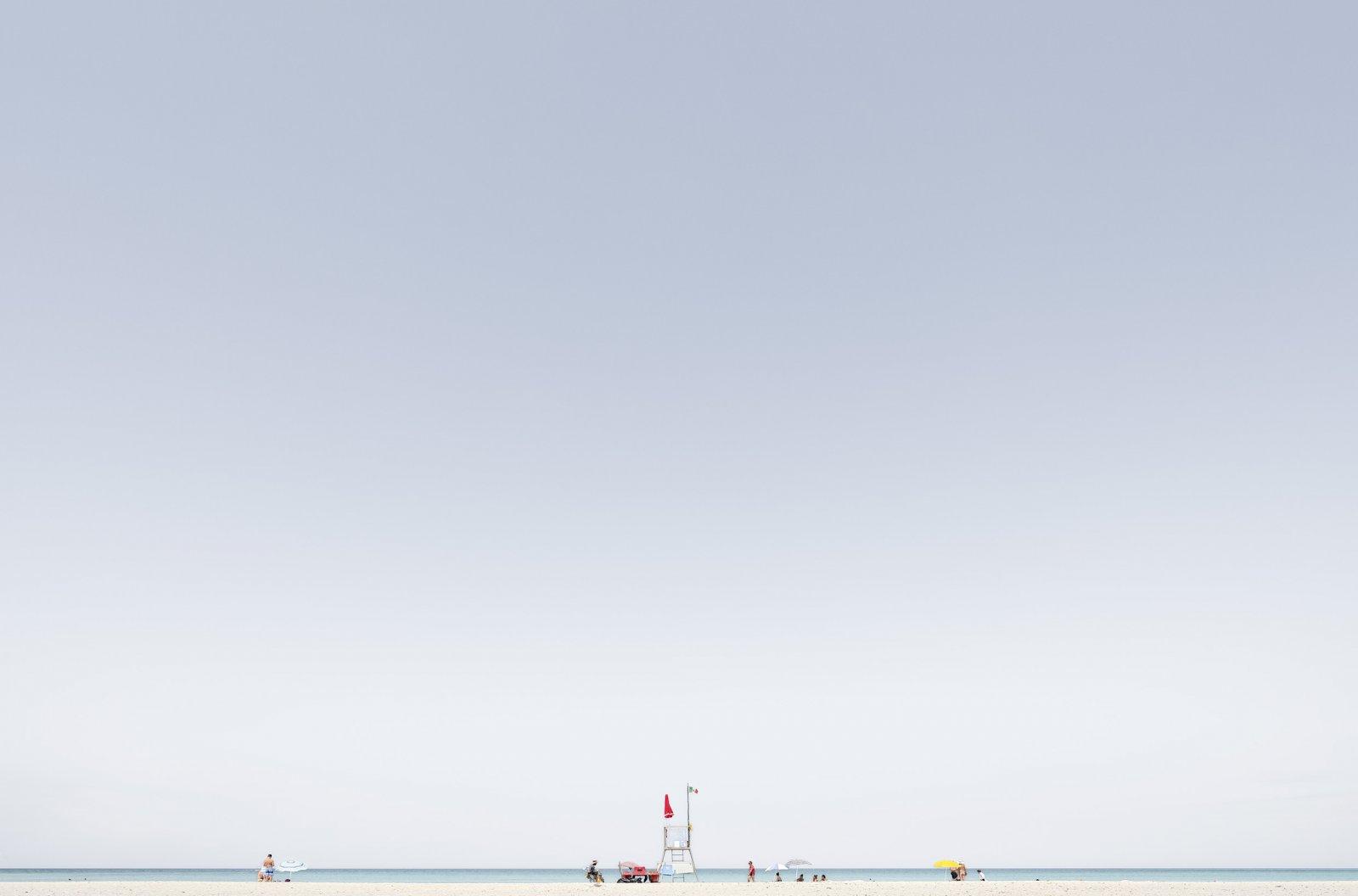 Spiagge bianche, Italie, 2017 © Luca Lupi