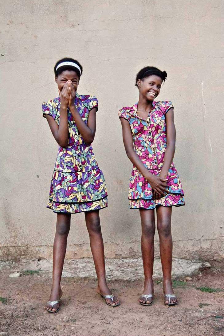 Jabulani Dhlamini, Amawele (The Twins), 2010 Courtesy de l'artiste et Rubis Mécénat