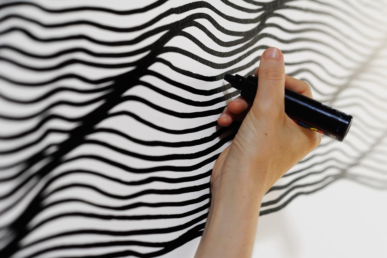 Wall Drawing - Ursula Caruel © Philippe Lagarde