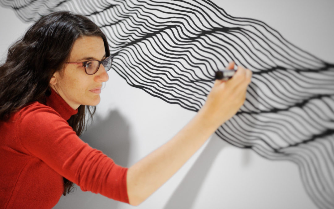 Wall Drawing - Ursula Caruel © Philippe Lagarde