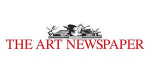 the art newspaper logo
