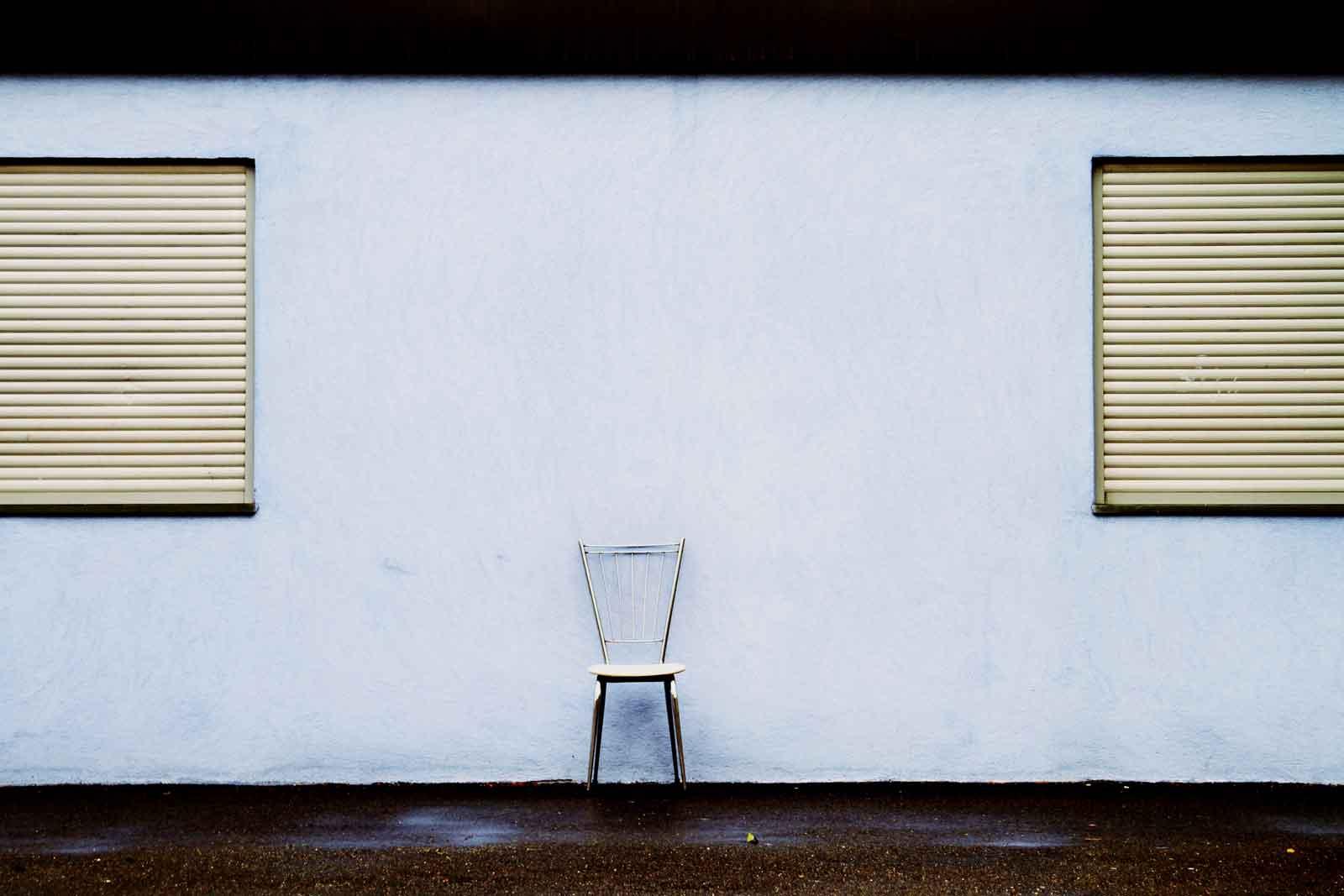 La Chaise vide © Korin Mariotto