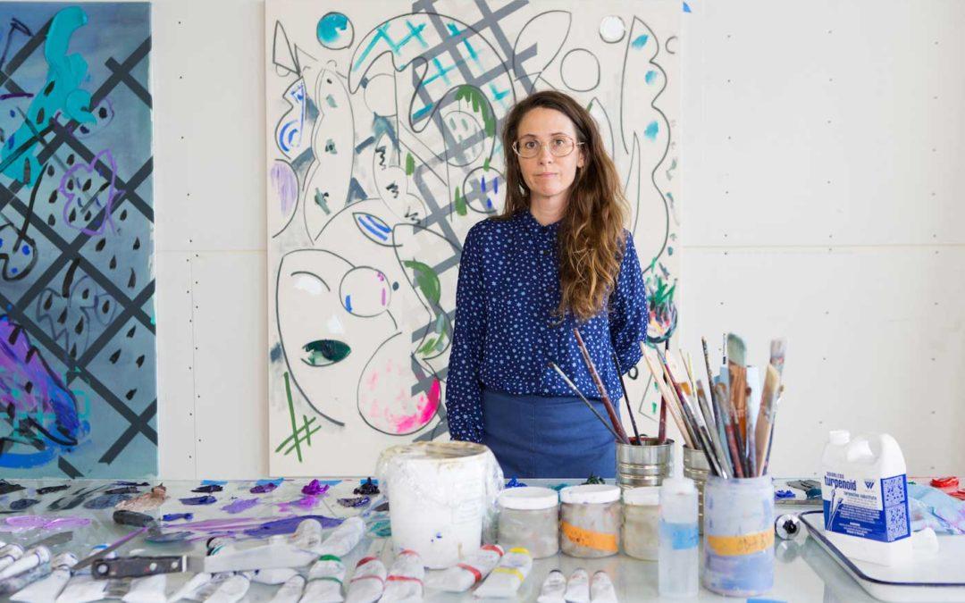 Laura Owens-Portrait