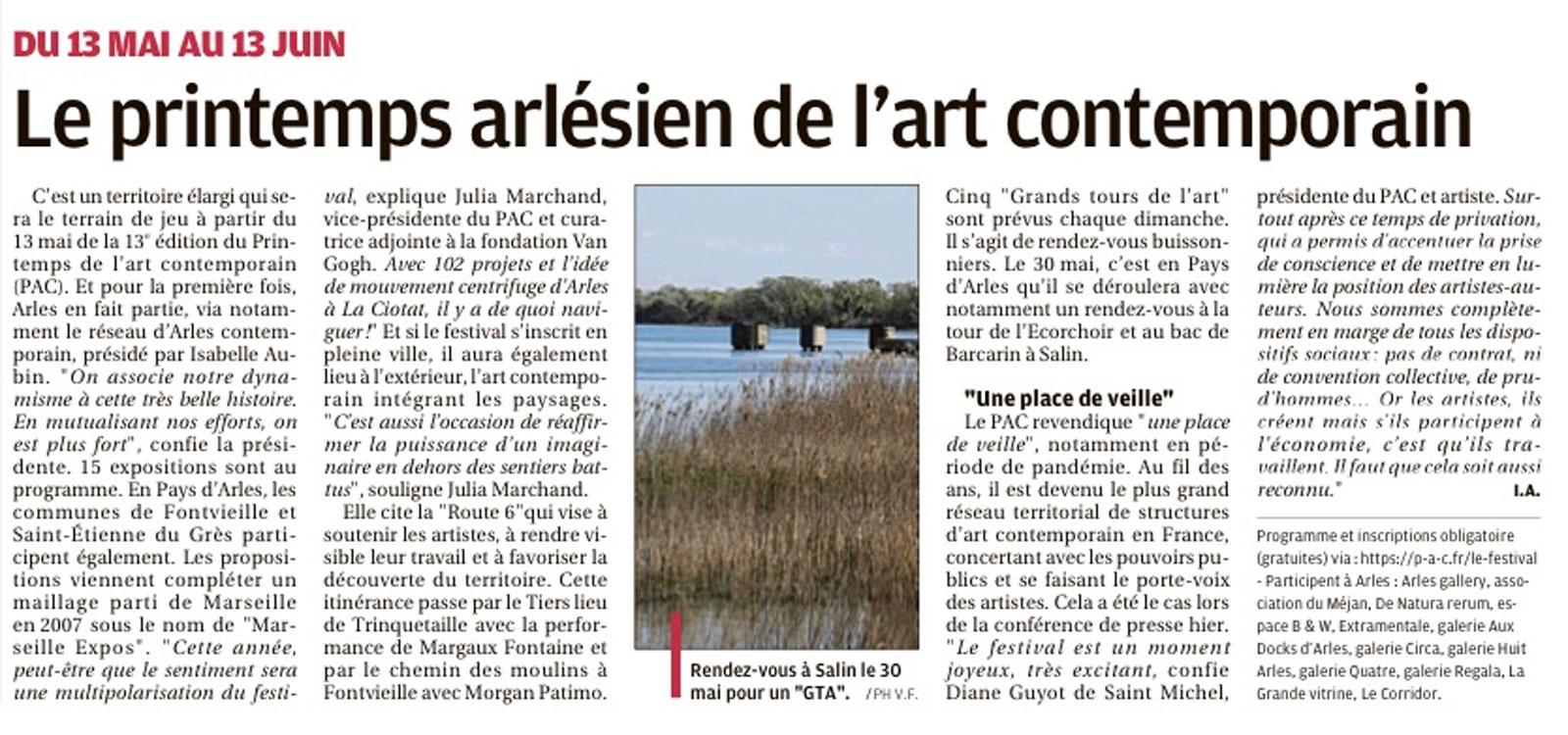 arrticle PAC-La-Provence